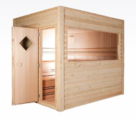 sauna en kit exterieur awesome sauna finland with sauna en kit exterieur gallery of log cabin. Black Bedroom Furniture Sets. Home Design Ideas